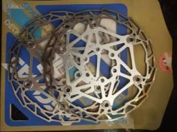 Disco freio Bike flutuante 160 mm<br>Dekas<br>