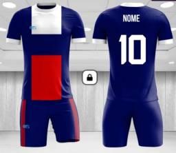 Título do anúncio: uniforme futebol sublimação camisa e calção