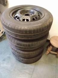 Jogo de rodas de ferro aro 13