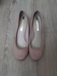 Sapato moleca camurça. Tamanho 36