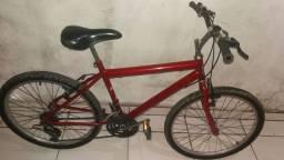 Bike Cairu aro 24 com Marcha  em ótimas condições