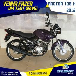 Título do anúncio: Factor 125 K 2012 Roxa