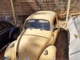 Fusca 1500 Amarelo 1972
