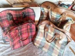 Vendo conjunto de malas antigas