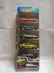 Título do anúncio: Hotwheels Fast and Furious Pack 5x