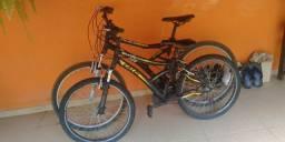 Vendo duas bicicletas da marca Caloi 600 Reais  cada uma