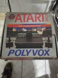 Título do anúncio: Atari Polyvox na caixa completo (leia o anúncio)