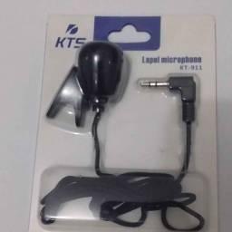 Microfone Lapela KTS Para Computador e celular (Entregamos)