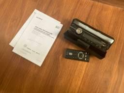 Frente sony cdx-gt457ux + controle - entrego e passo cartão, pix