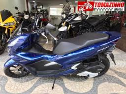 Honda PCX 150 azul 0KM 2021 troco por moto