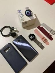 Samsung Galaxy S8 Violeta + Relogio Galaxy Active