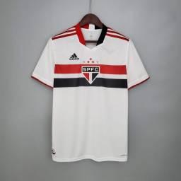 Camisa São Paulo principal temporada 2021.