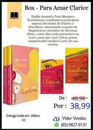 Livro Box - Para Amar Clarice e Graciliano ( 2 livros )