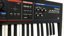 Teclado sintetizador Roland Juno Di em perfeito estado + SoftCase personalizado