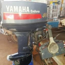 Motor de Popa Yamaha Enduro 40 HP 2 tempos