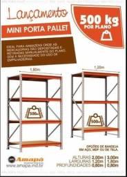 Porta Palete 2,00 x 1,80 para 250KG e 500KG - Solicite Já!!!!