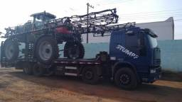 Caminhão iveco bitruck 8x2 prancha agricola - 2008