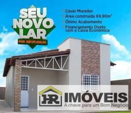 Casa para Venda em Timon, BOA ESPERANÇA, 3 dormitórios, 1 suíte, 1 banheiro, 2 vagas