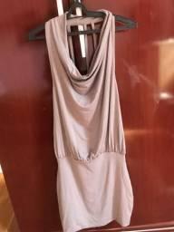Vestido nude - nunca usado