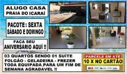 Alugo Casa no Icaraí Com Lazer Completo: Paulo 85- 9  * WhatsApp