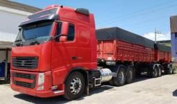 Conjunto Volvo Fh-440 6X2 Ano 2011 - 2011