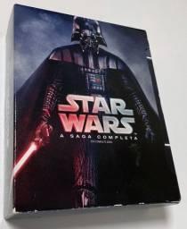 Box Blu Ray Star Wars: A Saga Completa para colecionador