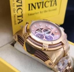 Relógios Originais a partir de 599 Invicta é só aqui *PROMOLUST
