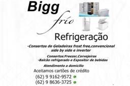 Marque seu horário:Consertos de Geladeiras convencional\frost free,Freezer e Cervejeiras.