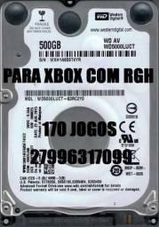HDs para Xbox com RGH