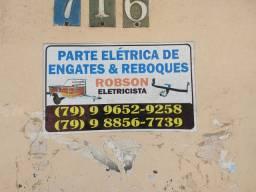 Serviço de instalação elétrica de Reboques e Engates