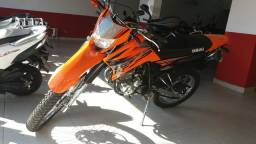 Yamaha XTZ Lander 250 cromada, sem entrada 12x1420 no cartão, aceito só moto, só chamar