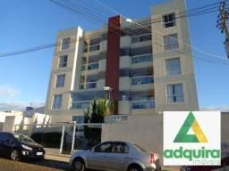 Apartamento com 3 quartos no edício piazza navona - bairro jardim carvalho em ponta gross