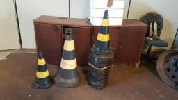 Cones sinalização
