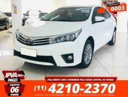Toyota Corolla XEI 2.0 Branca 2017 - 2017