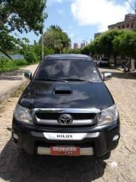 Hilux Srv 4x4 automatica 2010/2010 4 Pneu zero - 2010
