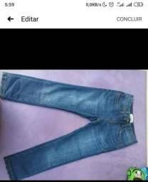 Calça infantil masculino tamanho 5-6