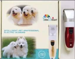 (NOVO) Máquina Tosar Cortar Pelo Animais Cachorro Caes Sem Fio