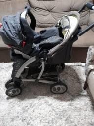 Barato vendo carrinho com bebê conforto Graco conservado