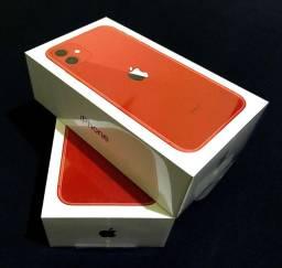 IPhone 11 64gb Vermelho (Novo Lacrado) Anatel