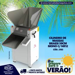 Título do anúncio: Cilindro de massas Braesi 50cm Novo Frete Grátis