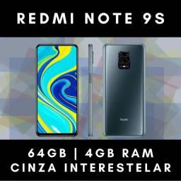 Xiaomi Redmi Note 9s 64gb Cinza   Novo   Garantia