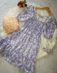 Vestido rodado/florido