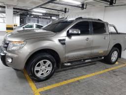 Ranger 2013 xlt- 4x4, turbo diesel, motor 3.2, automática, bancos de couro, 89 mil km