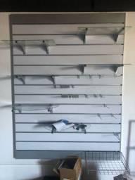 Expositor parede 2x1.60m