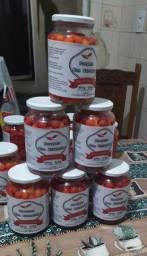 Vendo pimenta na conserva promocao 15 a pote de 500 gramas