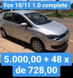 Fox 10/11 1.0 Completo 5.000,00 mais 48x de 728,00