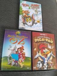 DVDs infantis originais!