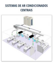 Sistema de ar condicionado central para indústria e comércio