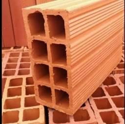 Venha conferir tijolos de 10 furos de primeira 21. *