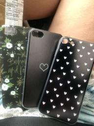 3 capinhas iPhone 8